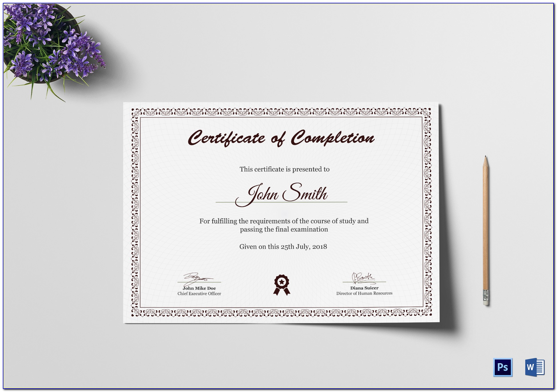 Kindergarten Graduation Certificate Templates Free Download