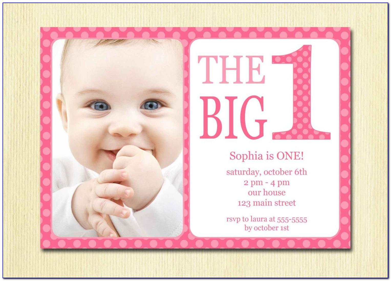 Little Girl Birthday Invitation Templates Free