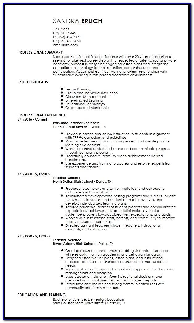 Resume Format Pdf Download Free Job