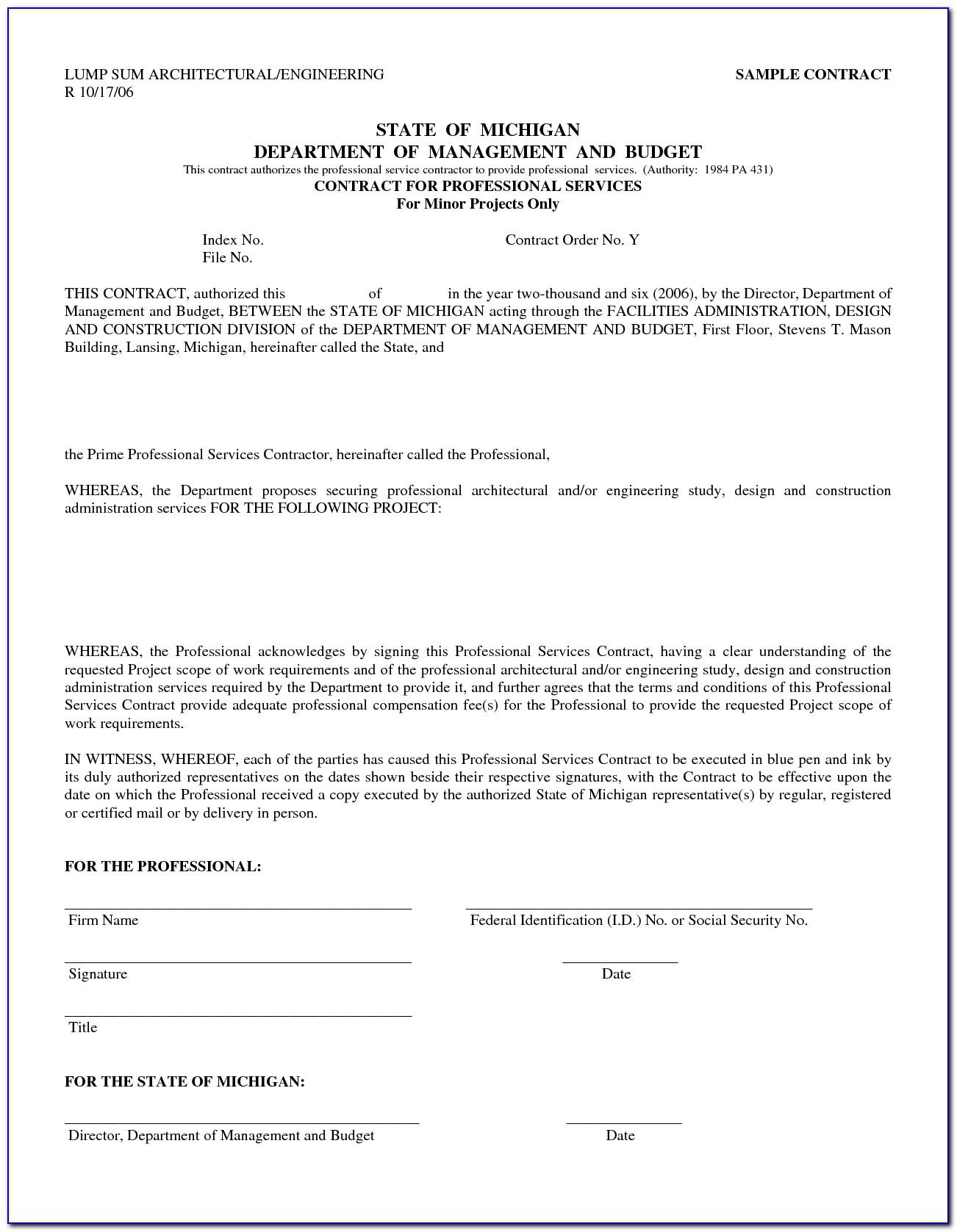 Sample Freelance Contract Agreement Pdf