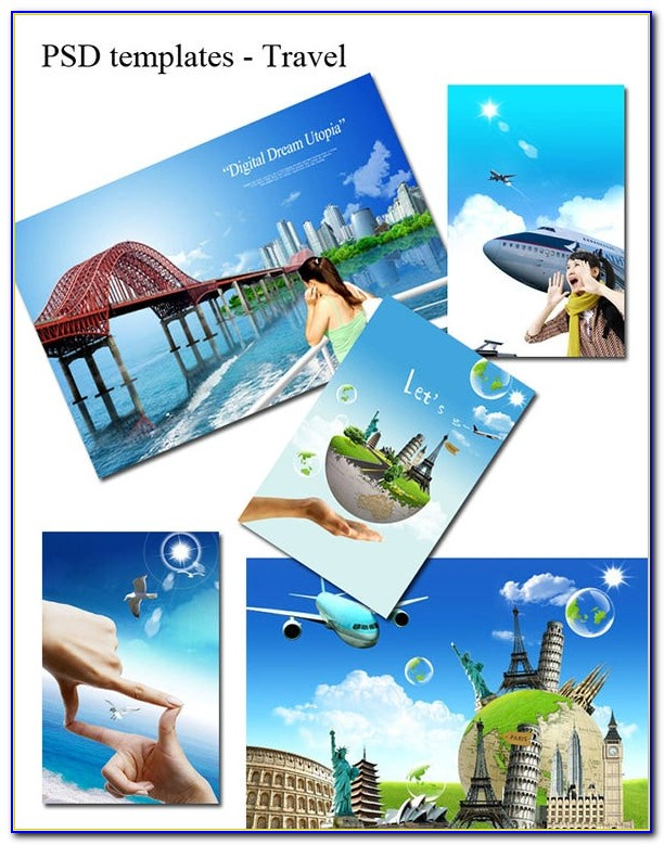 Travel Flyer Template Free Psd