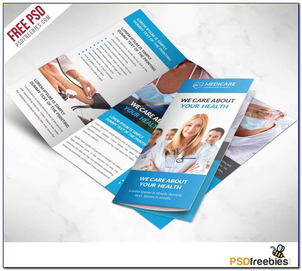 Tri Fold Brochure Template Free Ppt