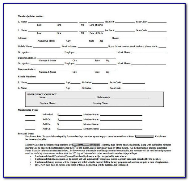 Ufc Gym Membership Cancellation Form