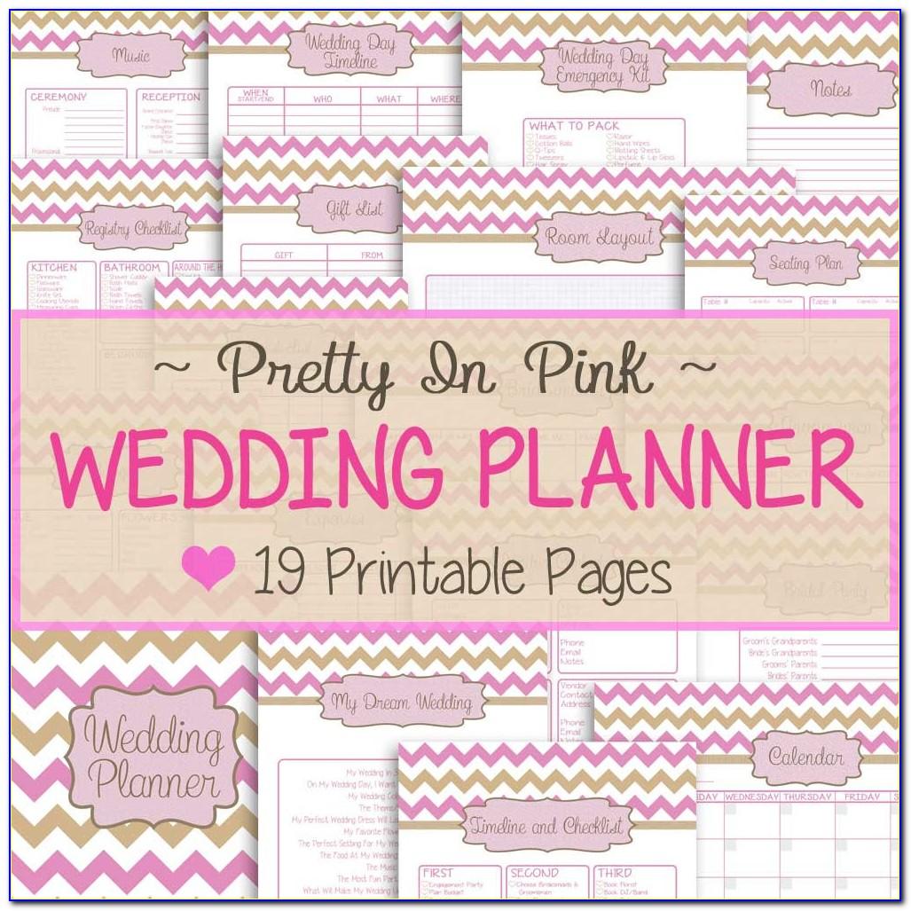 Wedding Planning Checklist Printable Free Uk