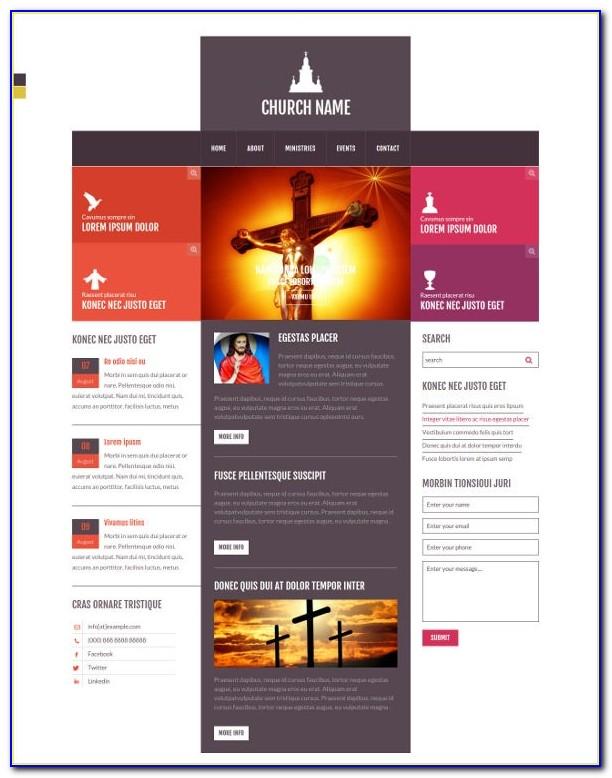 Church Web Templates Free Download