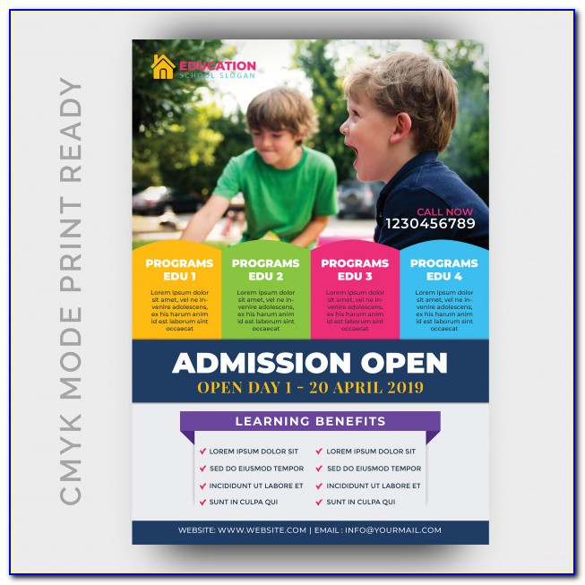 Education Flyer Templates Free Download