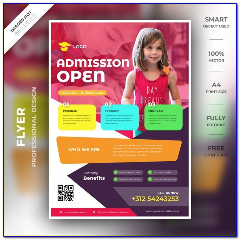 Educational Event Flyer Templates Free
