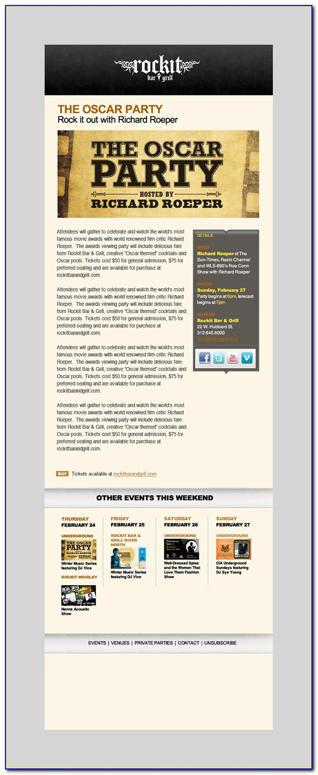 Email Marketing Templates Psd Free Download