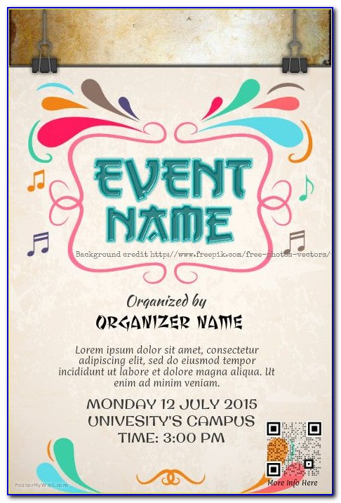 Event Poster Template Psd Free Download