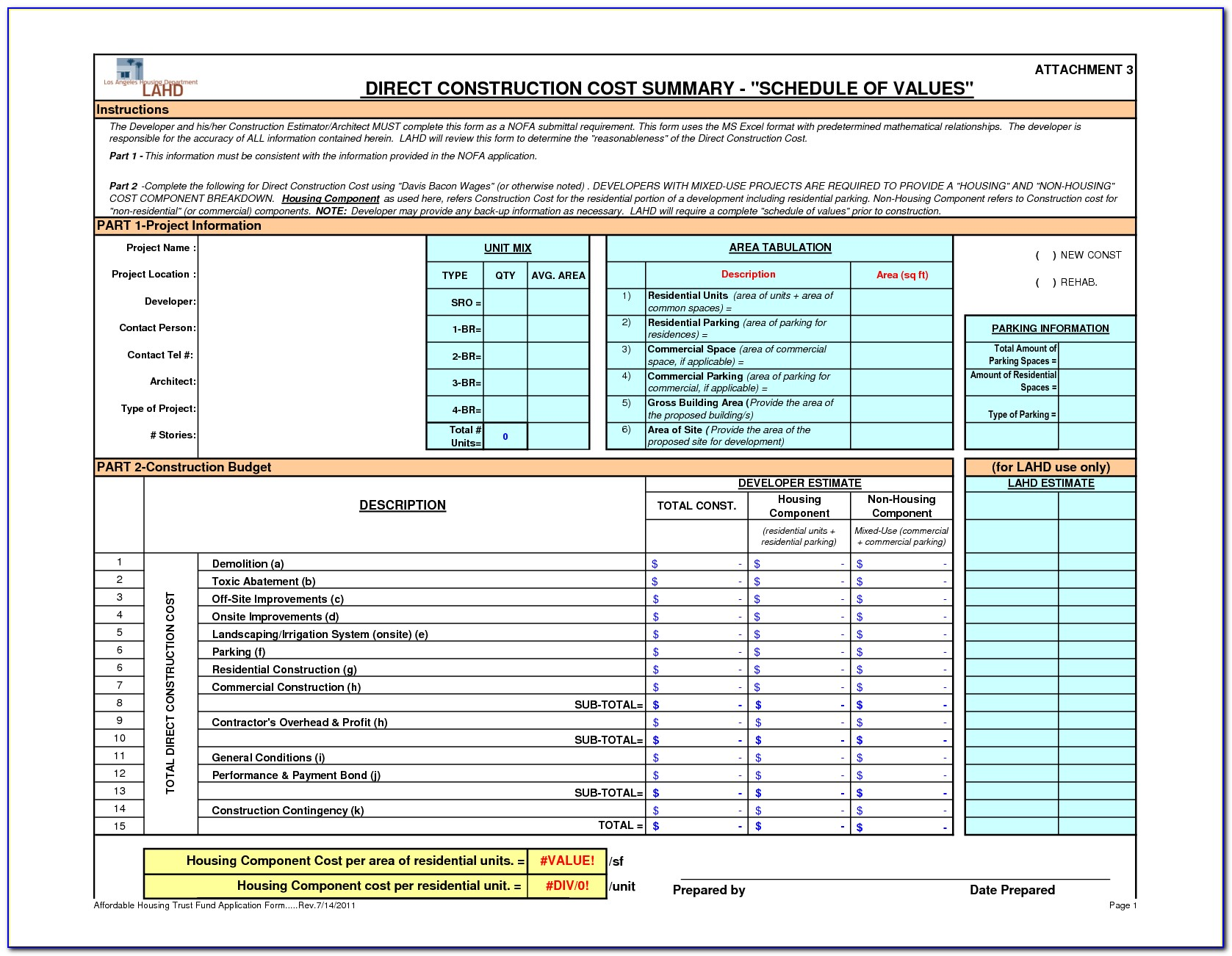 Excel Project Management Template Free Download
