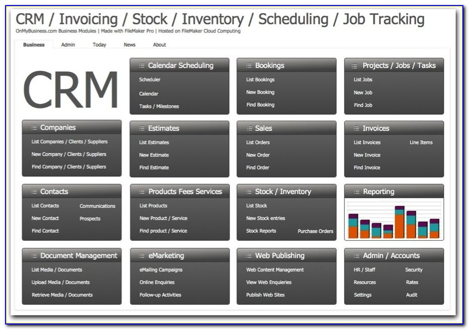 Filemaker Pro Inventory Templates Free