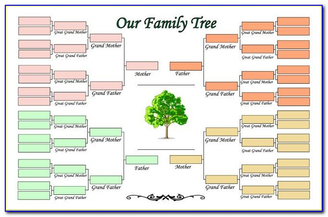Free Automatic Family Tree Maker Excel Template