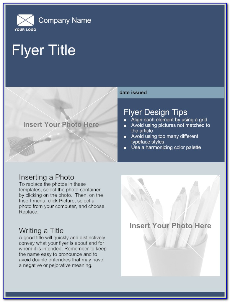 Free Business Flyer Template Word