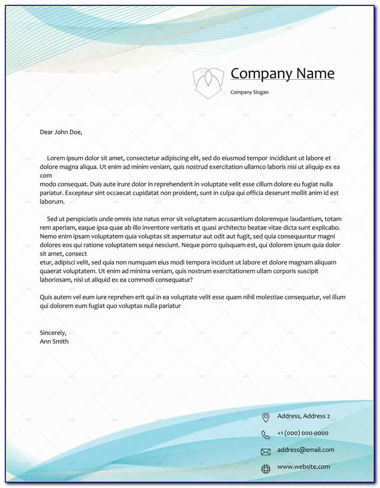 Free Business Letterhead Design Templates