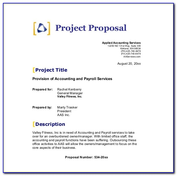 Free Business Proposal Template Design