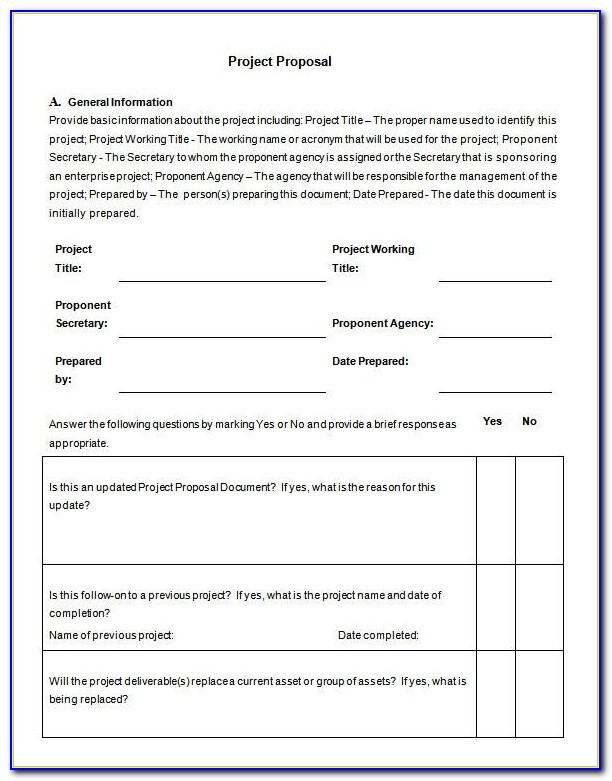 Free Business Proposal Template Pdf
