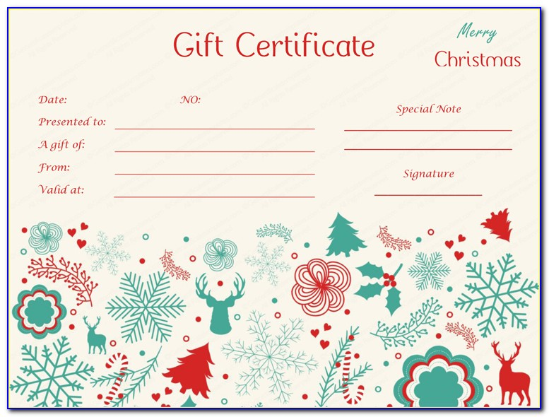 Free Christmas Mailing Label Templates