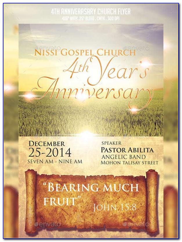 Free Church Invitation Templates