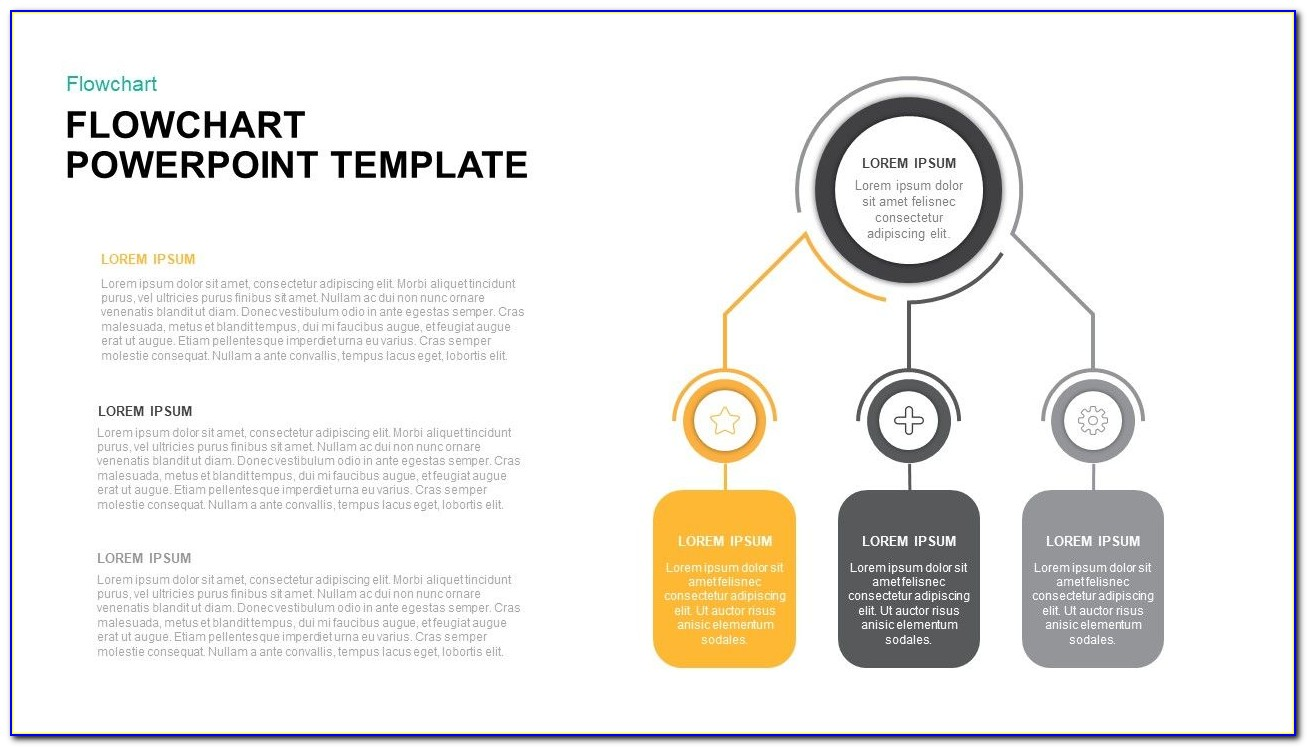 Free Cross Functional Flowchart Template Powerpoint