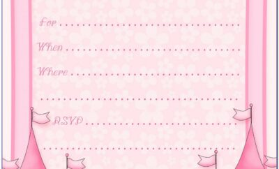 Free Disney Princess Invitation Maker