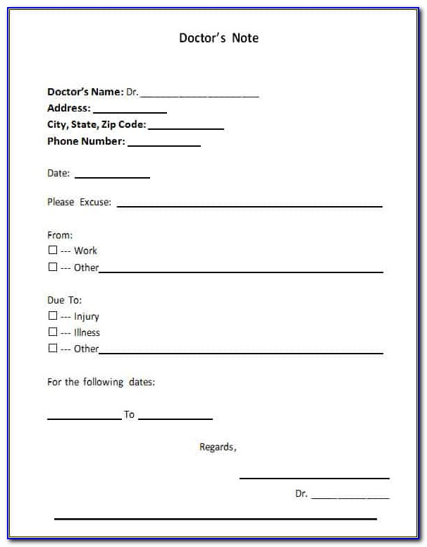 Free Doctor Referral Form Template