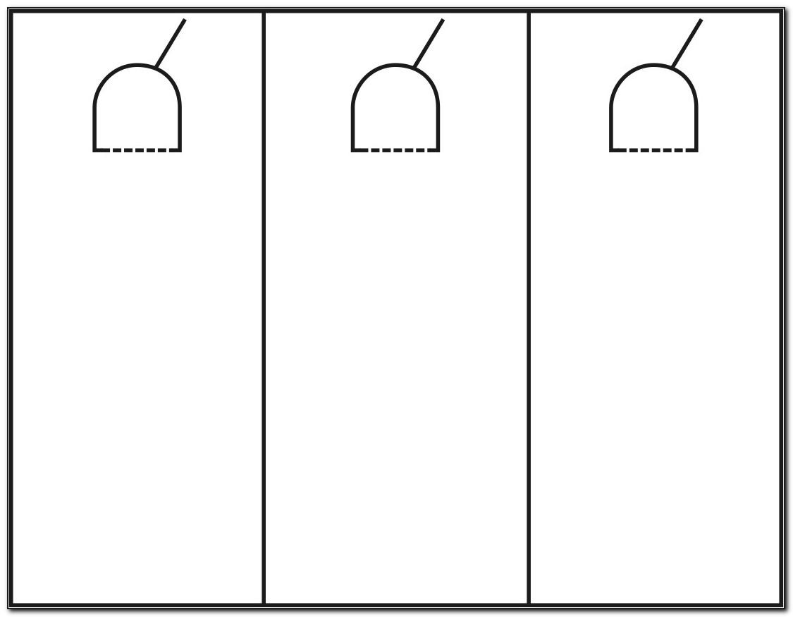 Free Door Hanger Template Microsoft Word