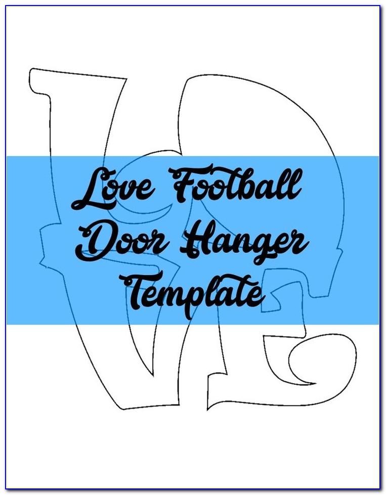 Free Door Hanger Template Photoshop