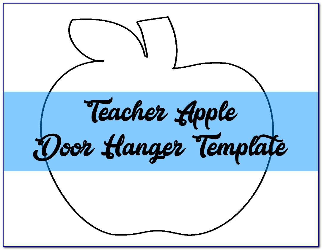 Free Door Hanger Templates Downloads