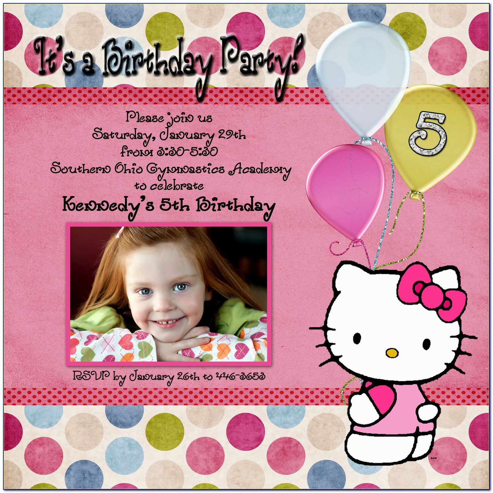 Free Download Birthday Invitation Card Maker