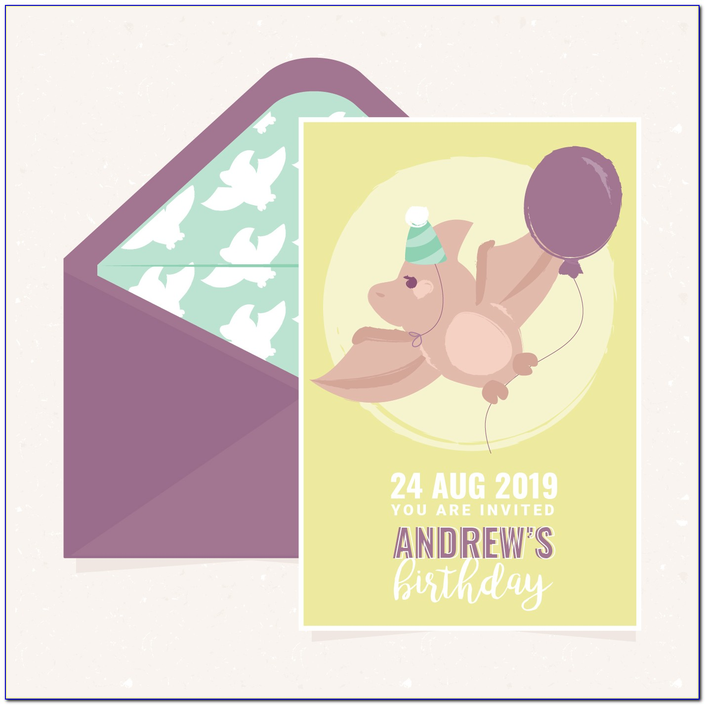 Free Download Birthday Invitation Templates