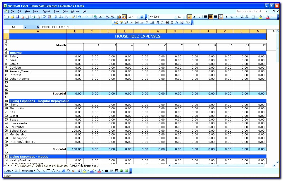 Free Download Excel Templates Business