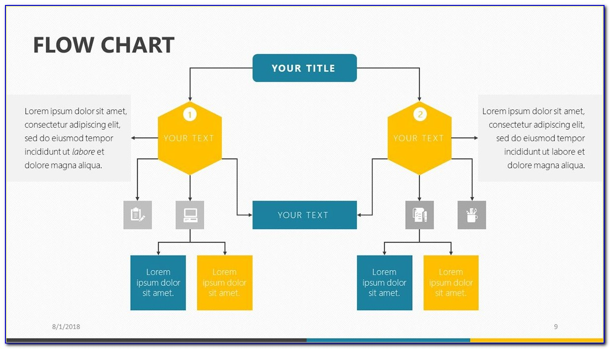 Free Download Powerpoint Flowchart Template