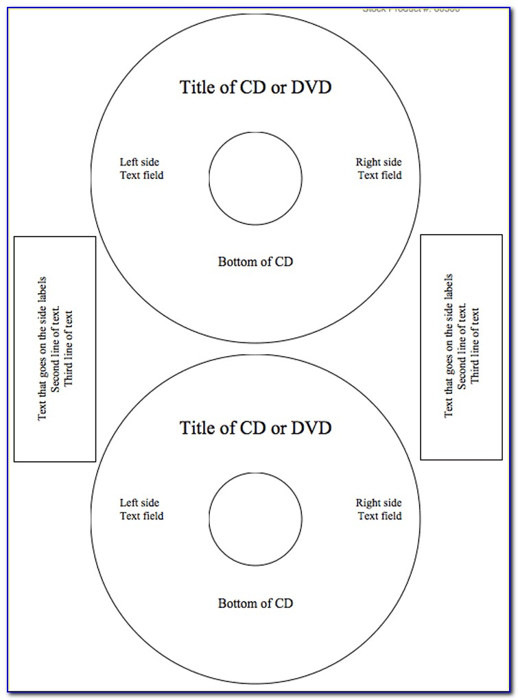 Free Dvd Label Template Photoshop