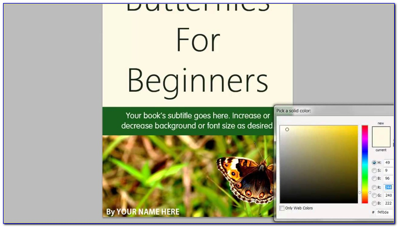 Free Ebook Template Download