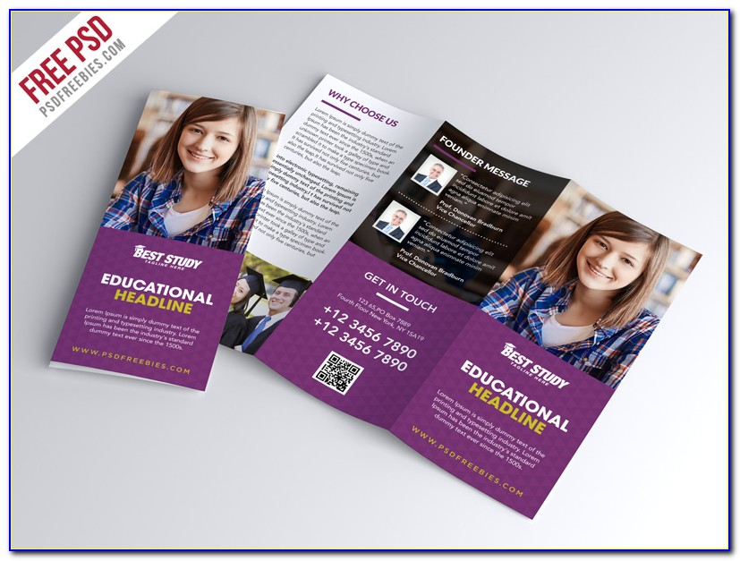 Free Education Brochure Design Templates