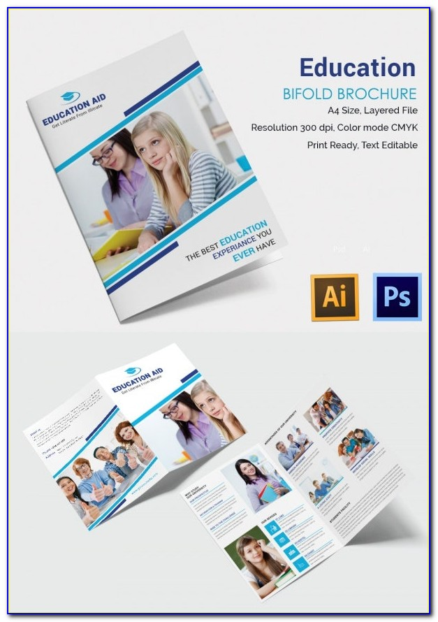 Free Education Brochure Template