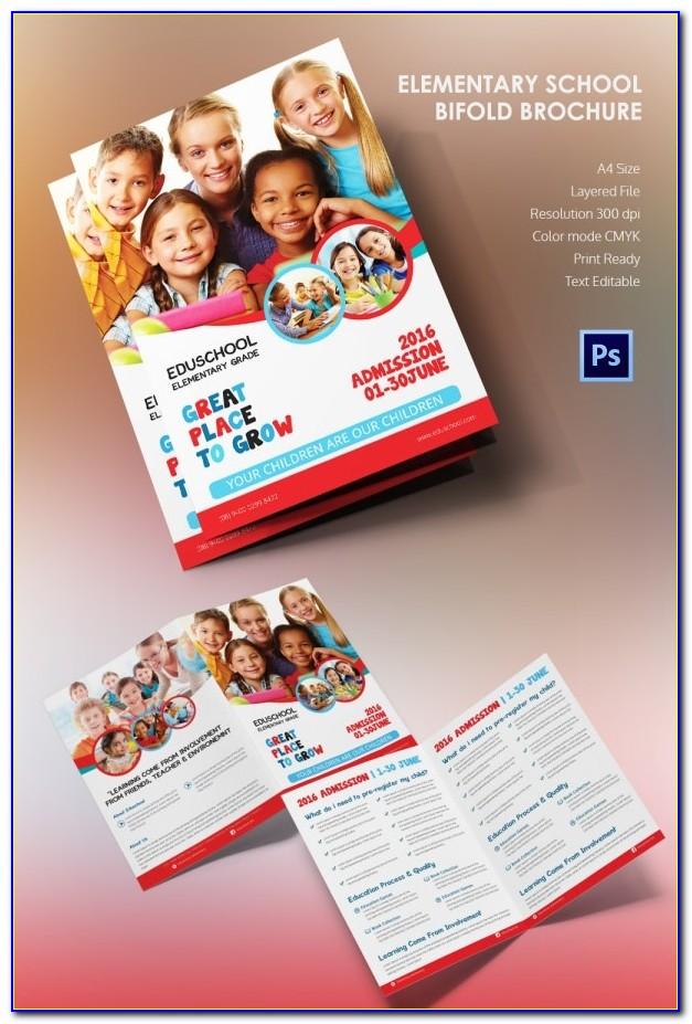 Free Education Brochure Templates Psd
