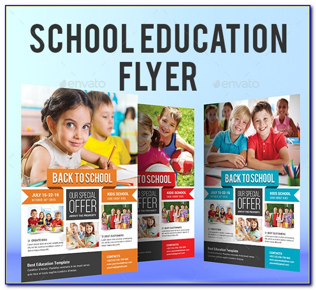 Free Educational Event Flyer Templates