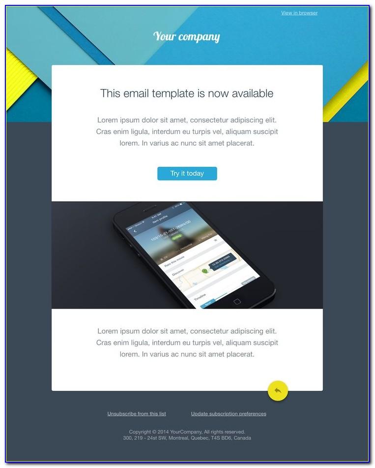 Free Email Blast Design Templates