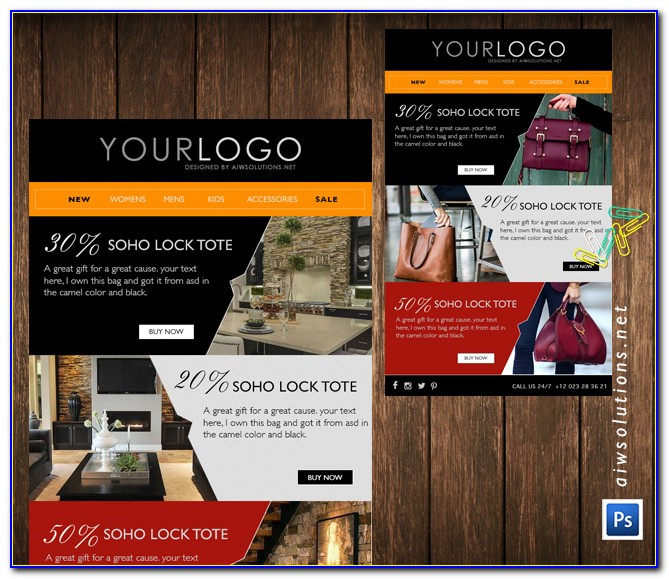 Free Email Blast Template