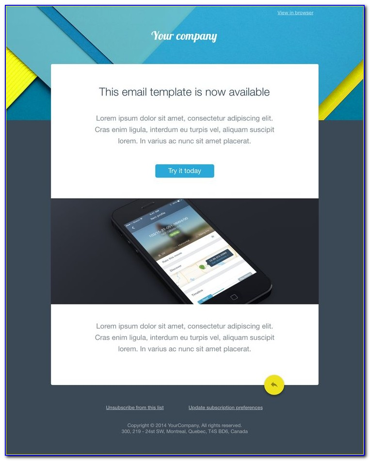 Free Email Blast Templates Html