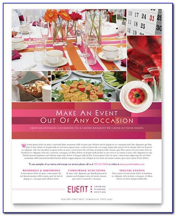 Free Event Flyer Templates Printable