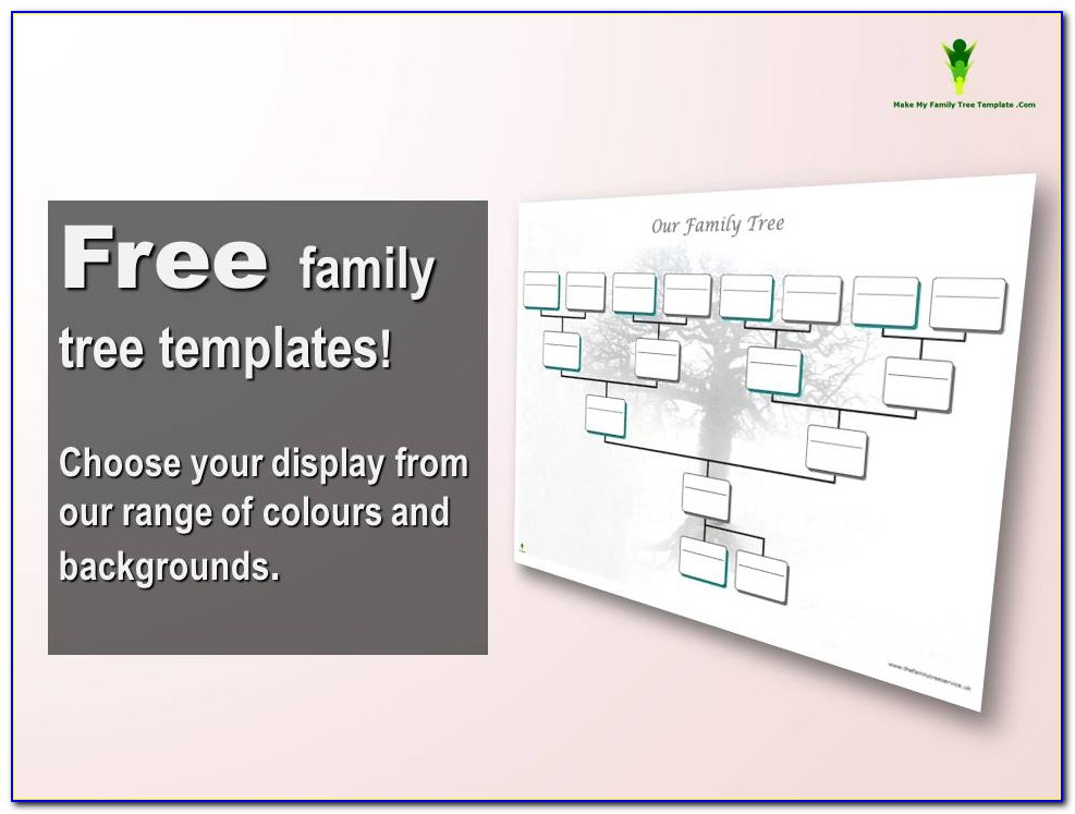Free Family Tree Maker Printable