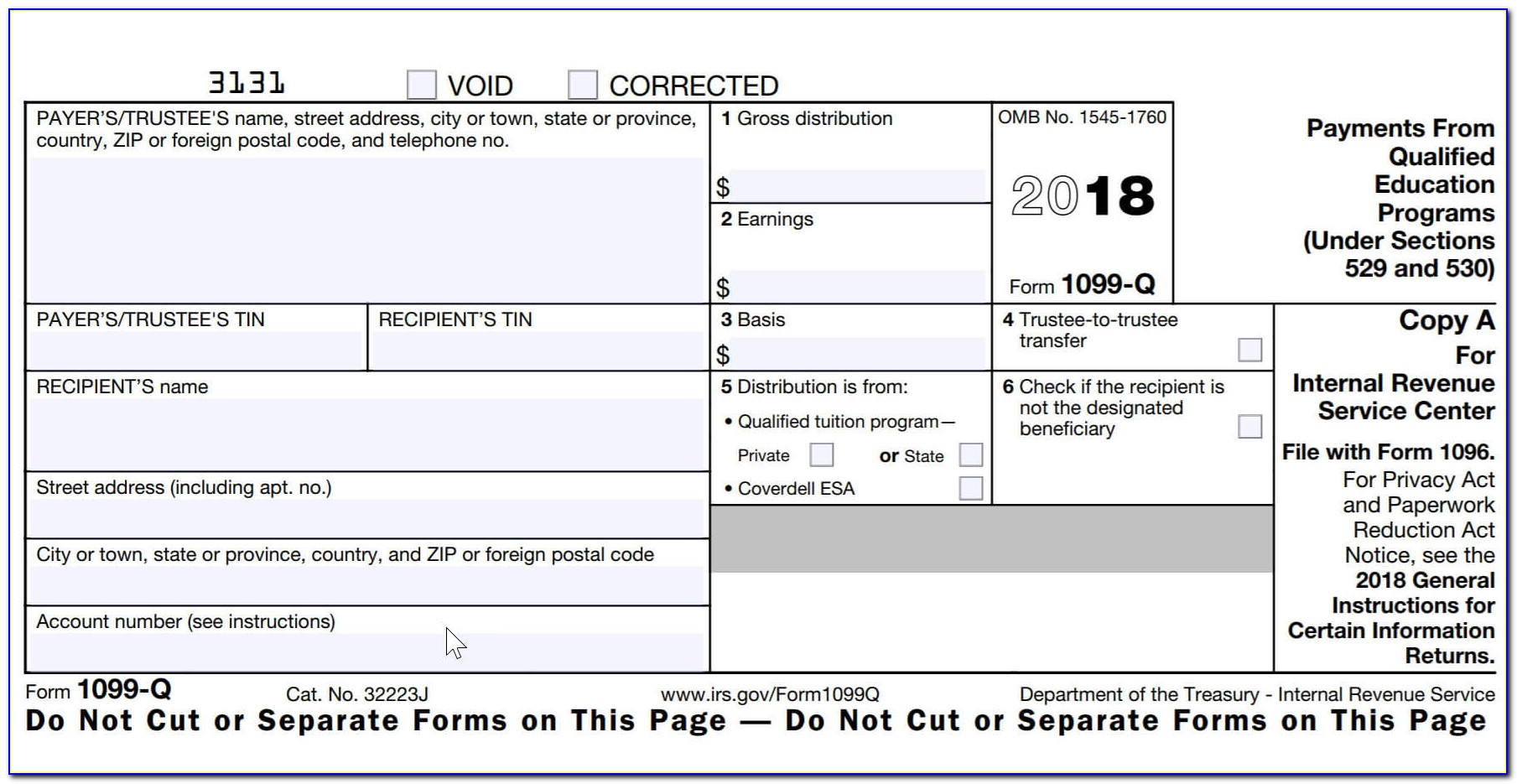 Free Fillable Commercial Invoice Template