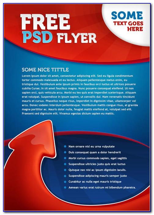 Free Flyer Design Templates Photoshop