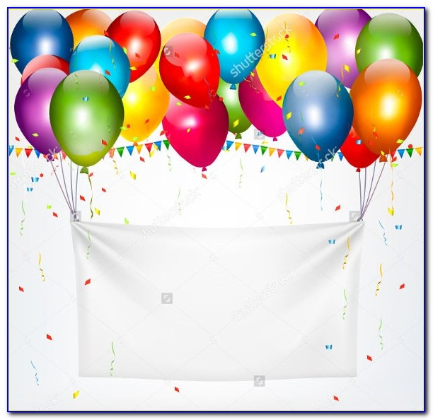 Free Happy Birthday Banner Template
