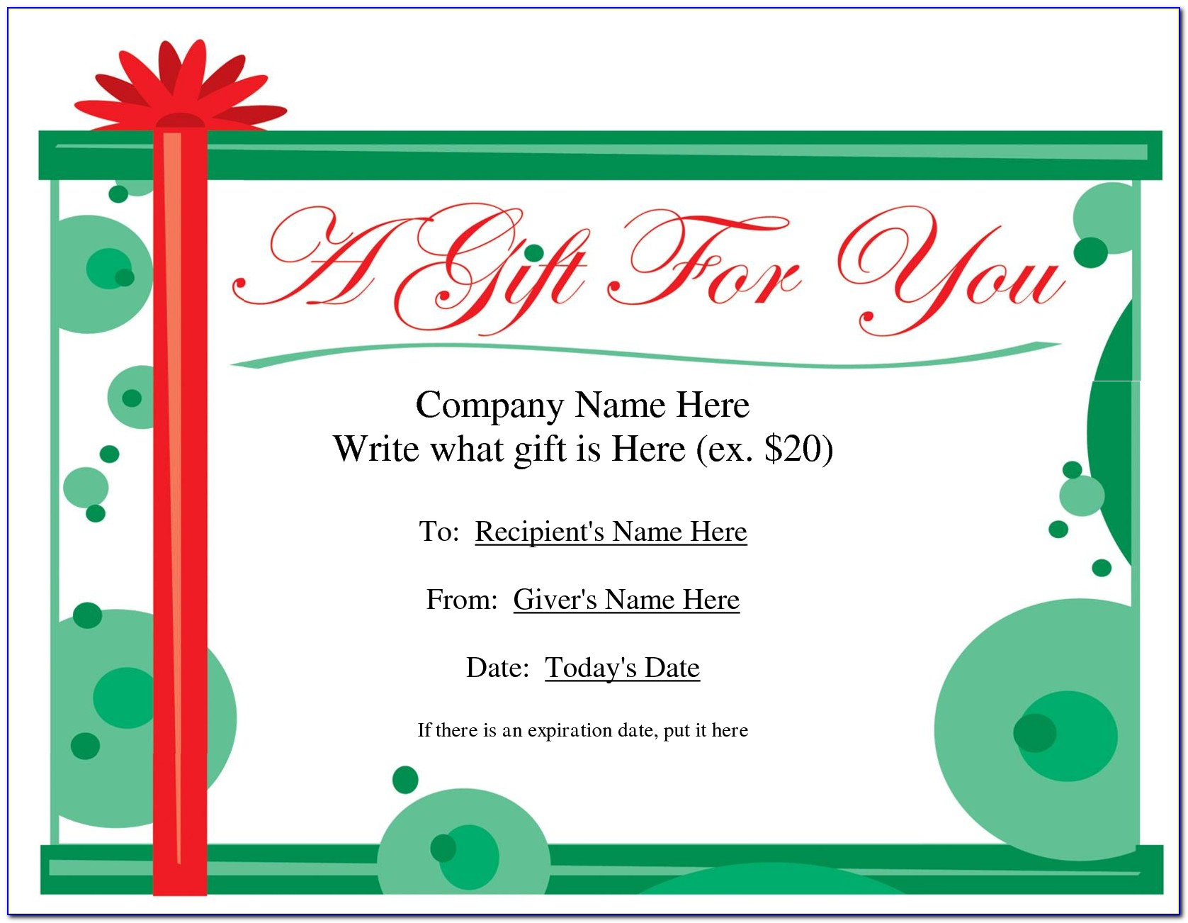 Free Holiday Christmas Flyer Templates