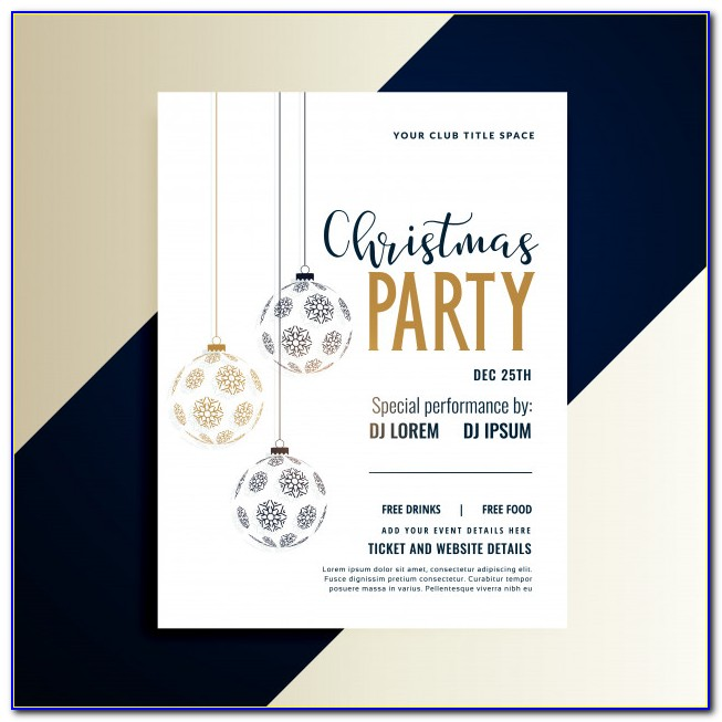 Free Holiday Sale Flyer Templates