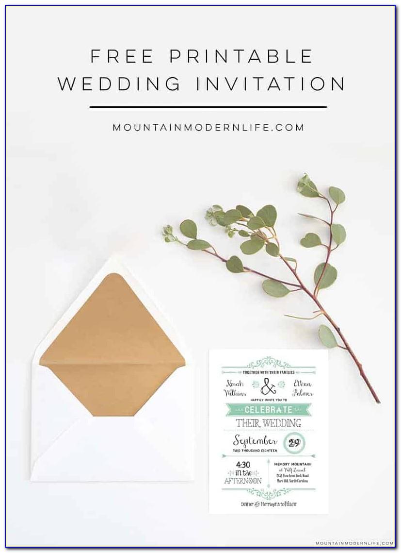 Free Invitation Templates Maker