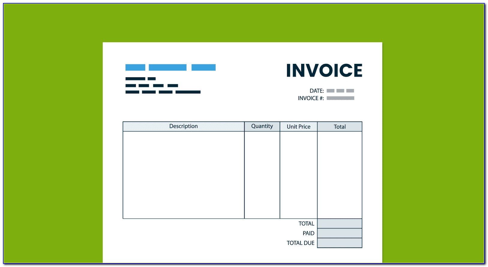 Free Invoice Template Doc
